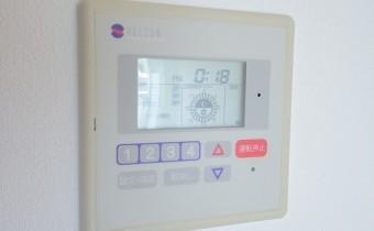 床暖房のコントローラー