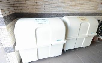 ゴミ回収は毎日行っているのでとても便利