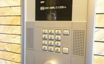 TVモニター付きオートロック