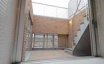 2階のテラス