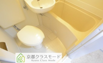 ユニットタイプのバスルーム