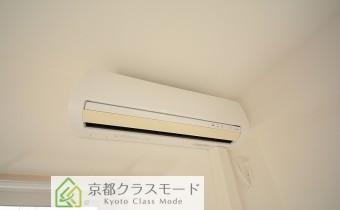 洋室8帖のエアコン