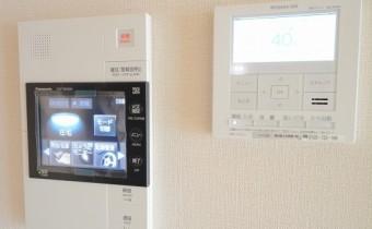 TVモニター付オートロック&床暖房コントローラー