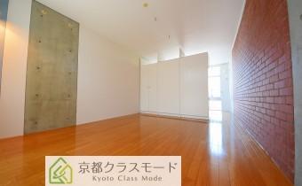 洋室15.8帖 可動式収納で広さをアレンジできます♪