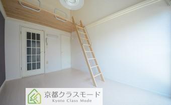 ロフトのスペースがあるので天井が高目の洋室6帖♪
