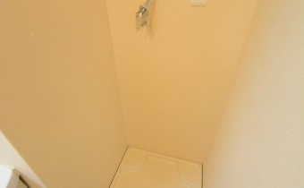 室内洗濯機置場※室内写真は同マンション内の301号室のものです。