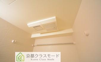 浴室乾燥機 ※室内写真は同マンション内の301号室のものです。