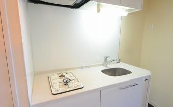 2口ガスシステムキッチン ※室内写真は同マンション内の301号室のものです。