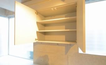 収納 ※室内写真は同マンション内のC号室のものです。