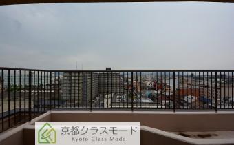 洋室8帖からの眺望・西向き