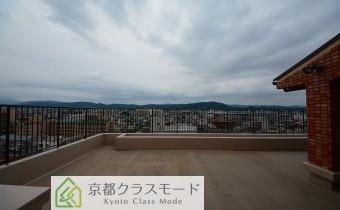 洋室7帖からの眺望東向き