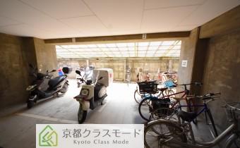 バイク置場&駐輪スペース