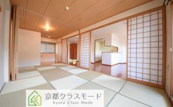 琉球畳のお洒落な和室♪
