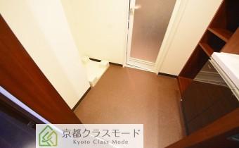 脱衣スペース ※室内写真は403号室の写真です。