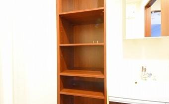 脱衣所の収納 ※室内写真は403号室の写真です。