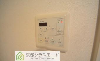 浴室乾燥機のコントローラー ※同マンション内の別のお部屋のものです。参考としてご覧ください。