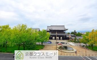 眺望・西向き 東本願寺が見えます♪
