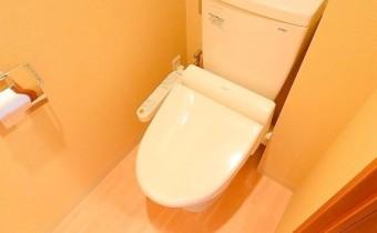 ウォシュレットトイレ ※室内写真は208号室のものです。