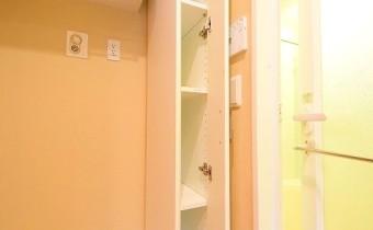 収納 ※室内写真は208号室のものです。