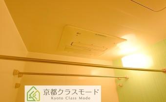 浴室乾燥機 ※室内写真は208号室のものです。