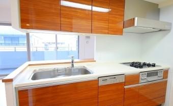システムキッチン ※室内写真は208号室のものです。