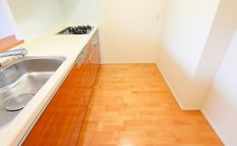 キッチンスペース ※室内写真は208号室のものです。