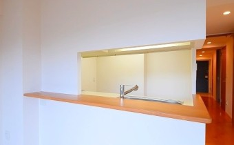 カウンター ※室内写真は208号室のものです。