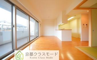 高級感のある室内空間♪カウンターキッチンタイプのリビングダイニング! ※室内写真は208号室のものです。