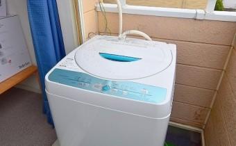 洗濯機はベランダになります。