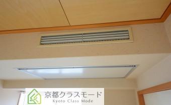 和室7.5帖 琉球畳のビルトインエアコン