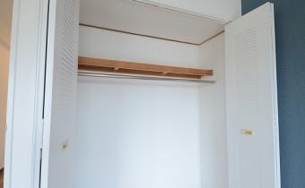 Room 6.4のクローゼット