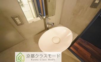 シャワー水柱付き