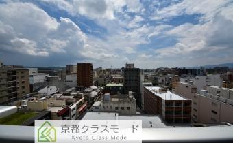 眺望 「南向き・最上階」です♪京都タワーも一望できます!