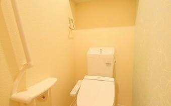 トイレ 収納スペースあります