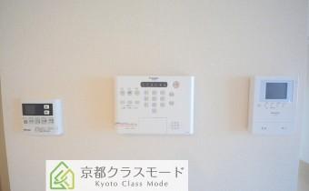 TVモニター付きインターホン&ALSOKホームセキュリティシステム