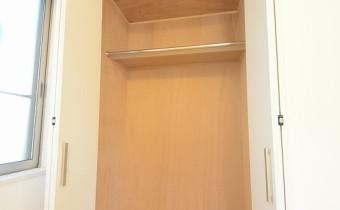 Room6のクローゼット
