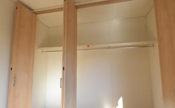 Room 6.2のクローゼット