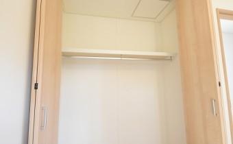 Room 4.7のクローゼット