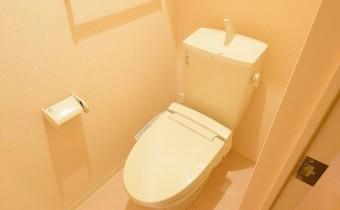 ウォシュレットトイレ ※この写真は同マンション206号室のものです