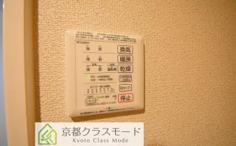 浴室乾燥機のコントローラー ※この写真は同マンション206号室のものです