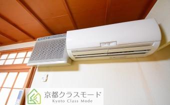 和室 6のエアコンと空気清浄機 ※残地物となります。