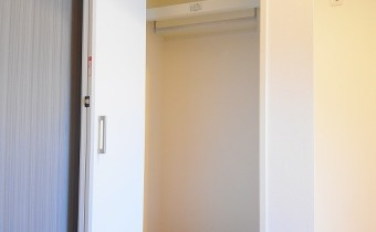 Room 3.9のクローゼット