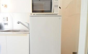 冷蔵庫&電子レンジ ※希望なら付いてきます♪