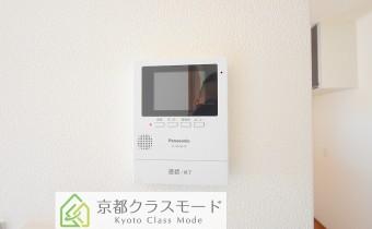 キッチン横に モニター付インターホン