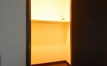 Room 7のウォークインクローゼット