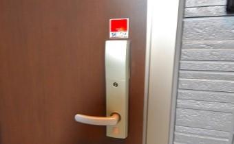 カードキータイプの玄関ドア