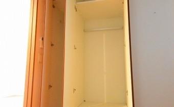 Room 4.6のクローゼット