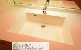 洗面台 ※室内写真は同マンション内の別タイプのものです。