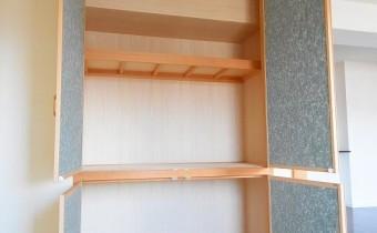 押入れ ※室内写真は同マンション内の別タイプのものです。