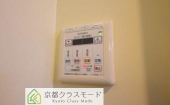 浴室乾燥機コントローラー ※室内写真は同マンション内の101号室のものです。